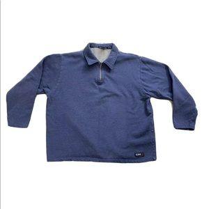 Vintage Club Monaco CMX Sport 1/4 Zip Sweater